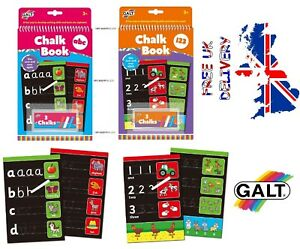Galt-Toys-Chalk-Books-FAST-amp-FREE-DELIVERY