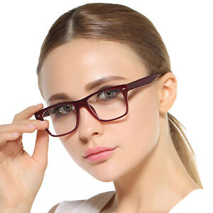 TR90-Women-amp-Men-Eyeglasses-Frame-Optical-Glasses-Spectacles-Eyewear-Rx-9196