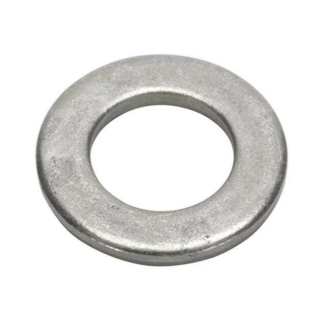 1x Pack Of 50 Sealey Flat Washer M16 x 34mm Form C BS 4320 - FWC1634