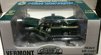 VERMOUNT STATE POLICE - 2001 FORD CROWN VIC. INTERCEPTOR GEARBOX 1 43 SCALE