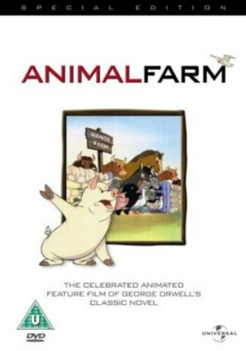 1 of 1 - Animal Farm Special Edition DVD John Halas Joy Bachelor UK Release New Sealed R2