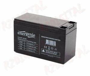 Fringant Batteria Energenie Al Piombo Sigillata 12 V 7 Ah Ricambio Per Ups Ricaricabile