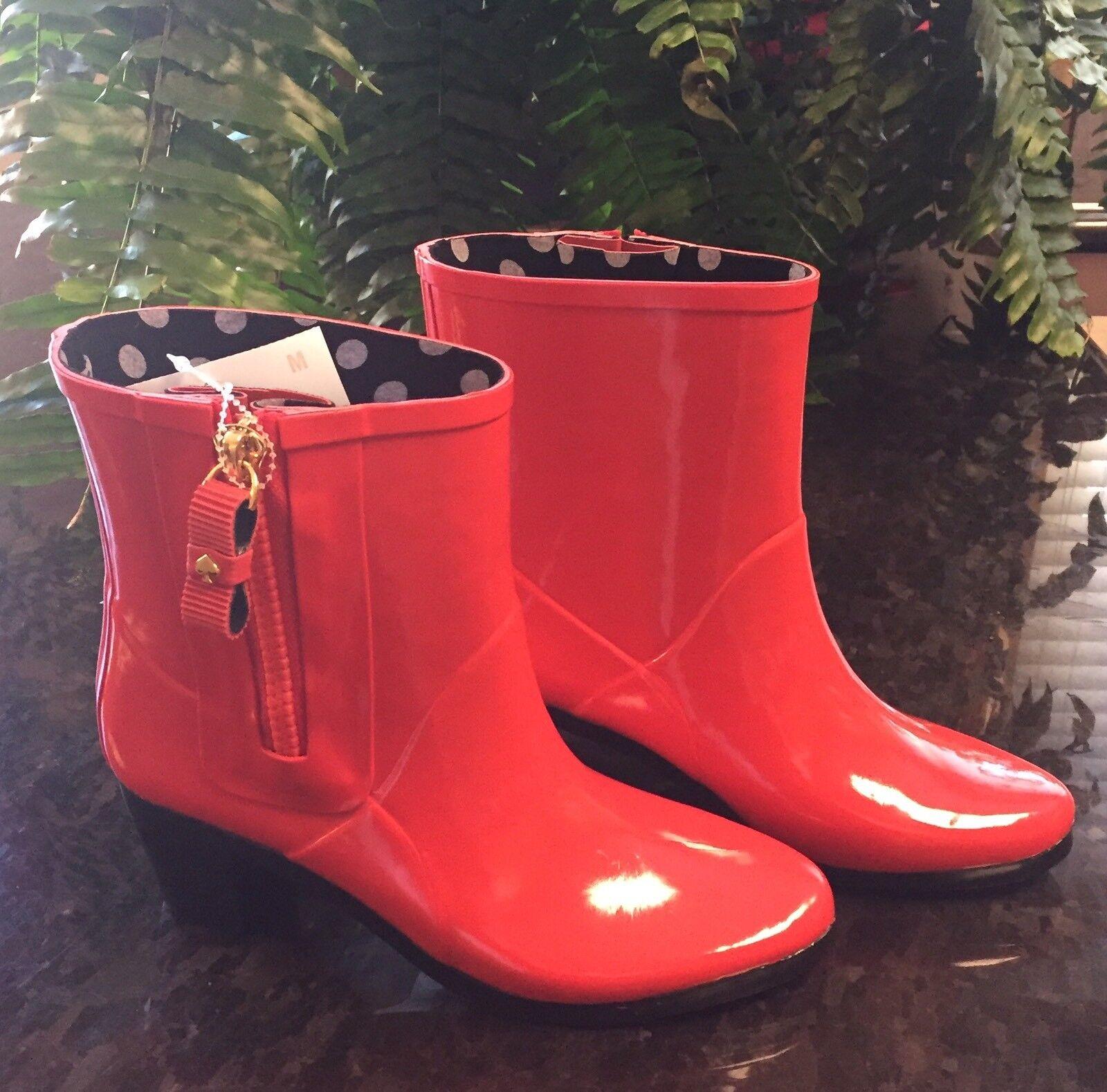 NWT Kate Spade Rain Snow Boots Booties 7