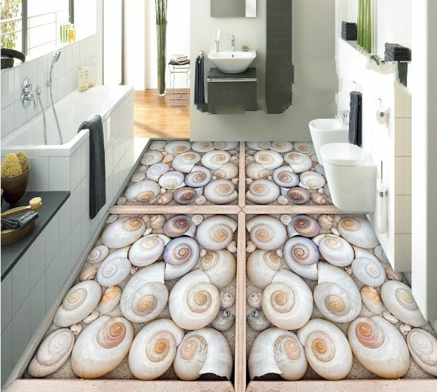 3D vite pittura carta Pavimento Foto Wallpaper Murales Muro Stampa Decalcomania
