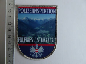 Österreich Polizei Abzeichen Fulpmes Stubaital Austria police patch