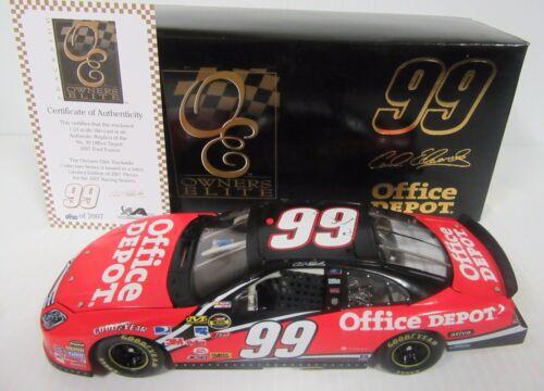1//24 Carl Edwards #99 Office Depot 2007 Trackside Owner/'s Elite Car