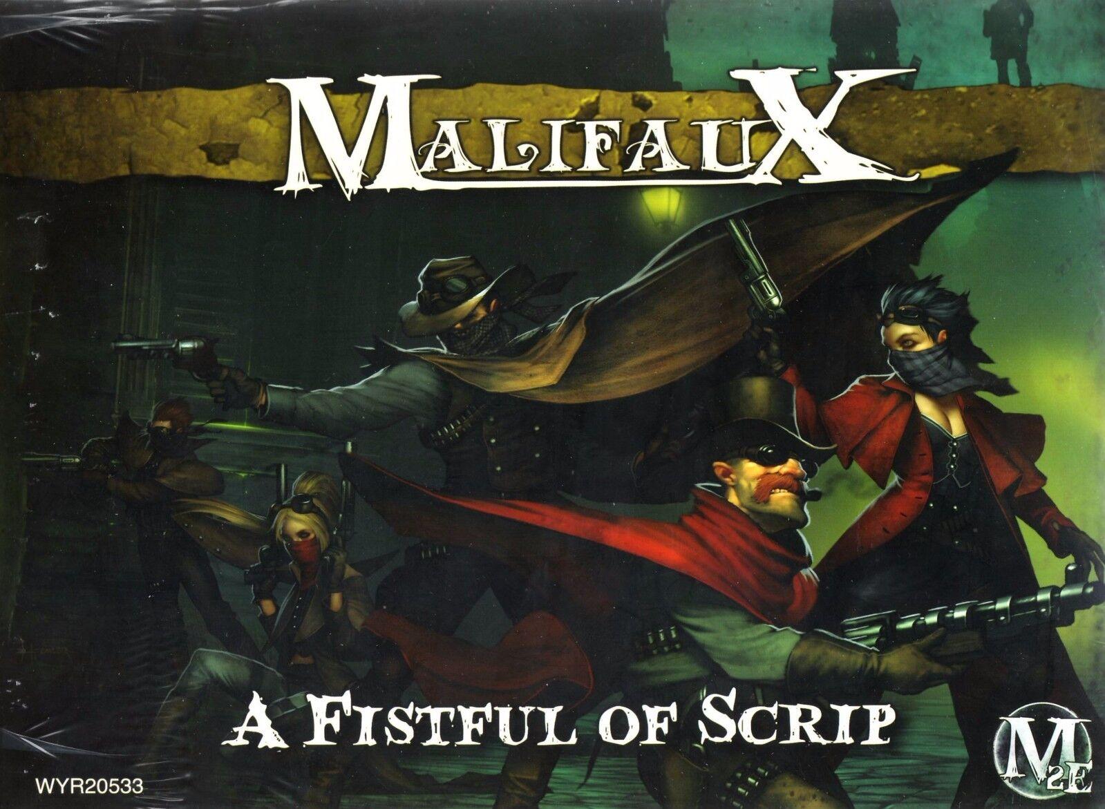 MALIFAUX A Fistful of Scrip WYR20533 nouveau FACTORY SEALED M2E   grand choix et livraison rapide