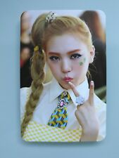 KPOP Orange Caramel Lipstick Lizzy ver. Official Photocard