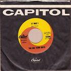 Big Town Boys - It Was I RARE Original Canadian 1965 Vinyl 45 rpm Single (Mint!)