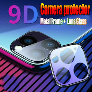 Fit-iPhone-11-Pro-Max-Metal-Frame-9H-Tempered-Glass-Camera-Lens-Screen-Protector