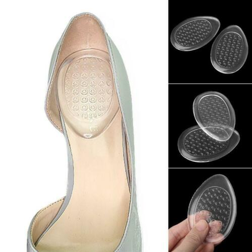 Heel Pads Women Shoe Pad Plantar Silicone Transparent Support Cushion Insole New