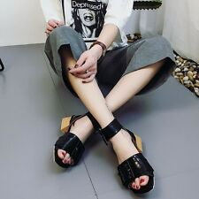 summer wowen sandals shoes sole material rubber beige and black  EPEWQS6622