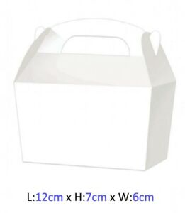 Image Is Loading Small White Treat Bo Wedding Confetti Favour Loot