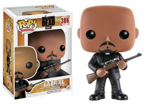 "THE WALKING DEAD GABRIEL 3.75/"" POP VINYL FIGURE FUNKO 387 BRAND NEW"