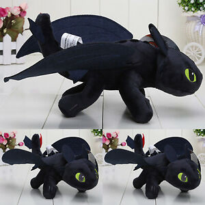 25cm-How-to-Train-Your-Dragon-Toothless-Night-Fury-Plush-Stuffed-Doll-Soft-Toys