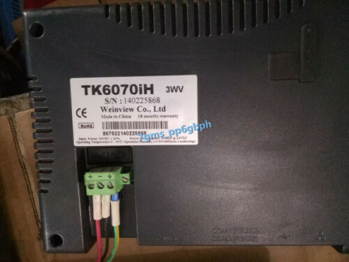 1PC  WEINVIEW touch screen TK6070IH 3WV