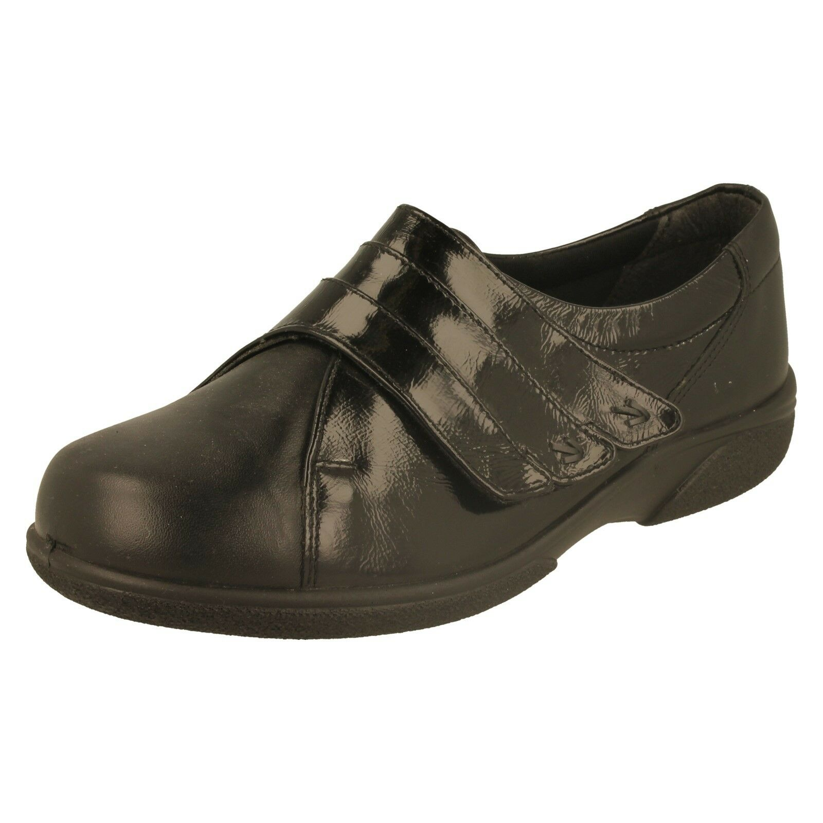 Ladies Easy B Wide Fitting shoes - 70213Q (Seconds)