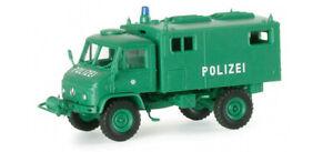 HERPA-742627-minitanks-Roco-4104-Unimog-S404-polizia-militare-scala-H0-1-87