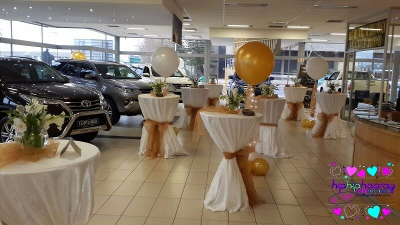Balloons for your showroom, boost sales!