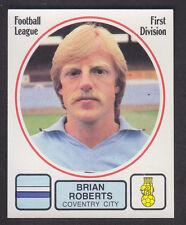 Panini - Football 82 - # 66 Brian Roberts - Coventry