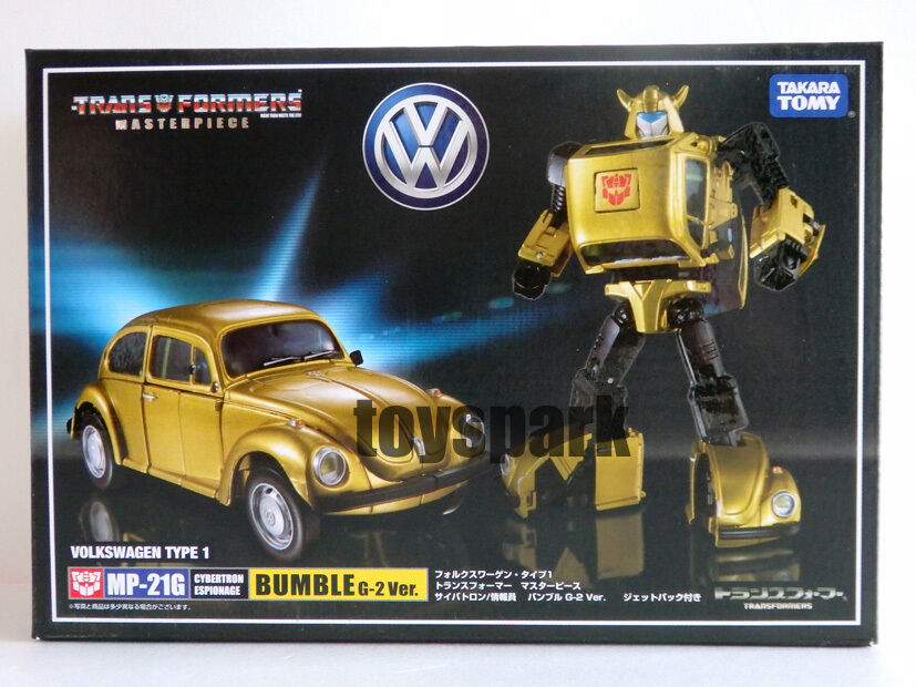 TAKARA Transformers Masterpiece MP-21G BUMBLEBEE G2 ver goldbug action figure