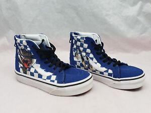 Kids Children VANS Dinosaur Sk8-Hi Zip