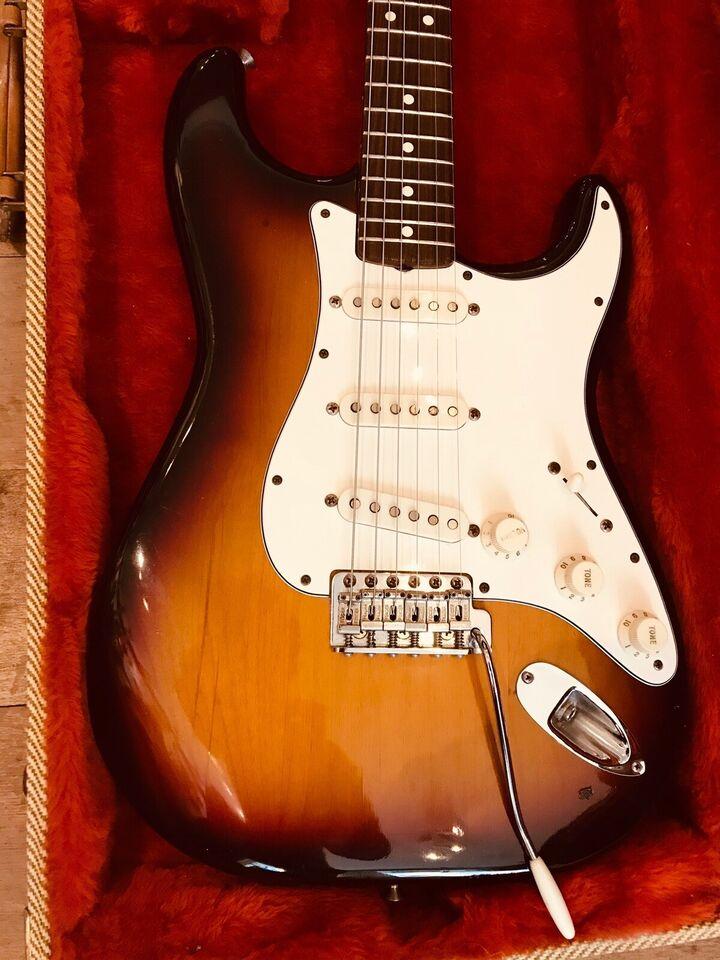 Elguitar, Fender Stratocaster 62 ri 1982