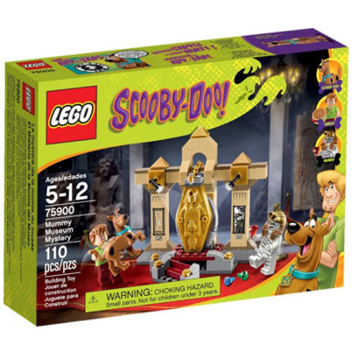LEGO 75900 Scooby-Doo Mummy Mystery Museum Set Nuovo In Box Sealed  75900