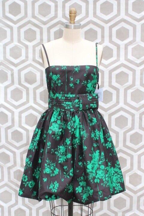 Nuevo Con Etiquetas Rojo Valentino ABITI mujer Smeraldo verde  Vestido Negro EU 42 nos 4  precio razonable