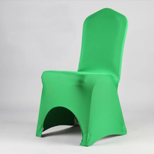 Lycra Spandex Chair Arched Front Covers Wedding Party Banquet Decor