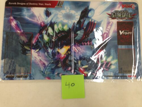Stark  SEALED SNEAK PLAYMAT Zeroth Dragon of Destroy Star CARDFIGHT VANGUARD