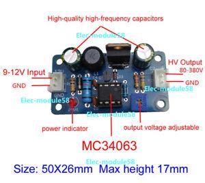 80-380V-DC-High-Voltage-NIXIE-amp-Magic-Eye-Tube-HV-Power-Supply-Module-NIXIE-ERA