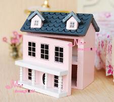 1/12 Dollhouse Miniature KIDS TOY Pink Dollhouse OT51
