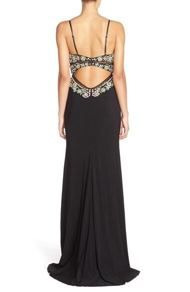 NWT   548 Faviana  Embellished Jersey Jersey Jersey Gown Rare   Sold Out     SZ 2   B122 63e1ed