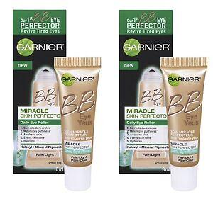 2-x-Garnier-Skin-BB-Eye-Skin-Perfector-Eye-Roller-Fair-Light-0-54-Oz-Total