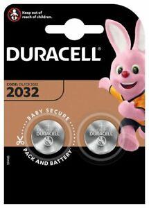 DURACELL CR2032 Bouton Lithium 3 V Blister de 2 Piles - Date 2029
