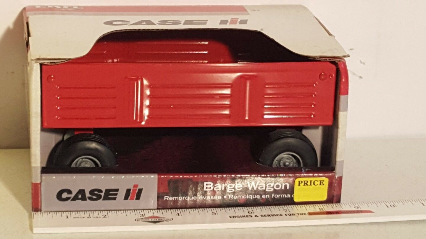 Ertl Case IH Barge Wagon 1 16 pressed steel replica collectible