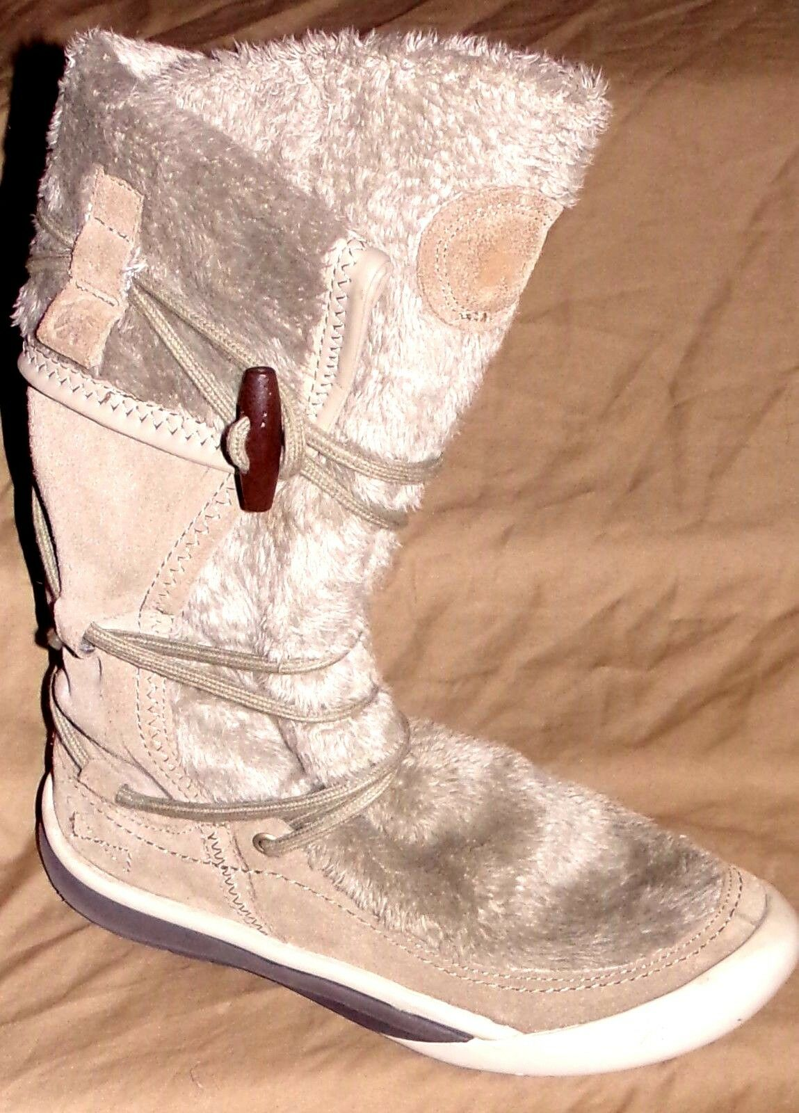 CUSHE WOMENS NAVAJO WINTER SUEDE 11 INCH BOOTS SIZE-7