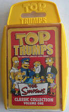 THE SIMPSONS CLASSIC COLLECTION VOLUME ONE 1 TOP TRUMPS SPECIALS NEW AND SEALED