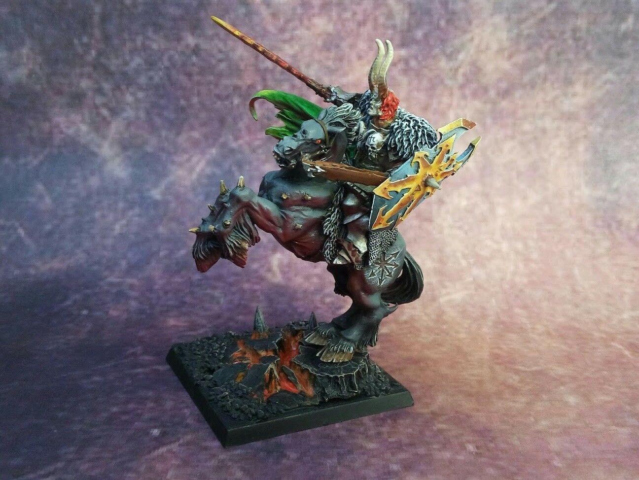 Archaon EL everchosen, señor caos, warhammer, edad de Sigmar, whfb
