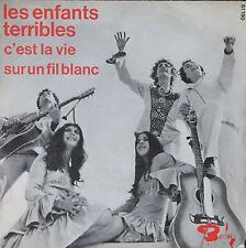"""Vinyle 45T Les Enfants Terribles """"C'est la vie"""" - série """"offert par ANTAR"""""""
