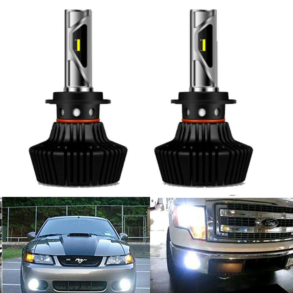 H7 Bulb Set Headlight Bulbs Xenon White Light For Toyota Corolla 1.4 VVT-i