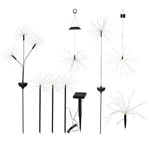 LED-Solar-Firework-Gartenstecker-Gartenstab-bis-90-LEDs-warmweiss-IP44-Gartendeko
