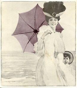 Caricamento dell immagine in corso MARCELLO-DUDOVICH-MAGNIFICA-STAMPA- VINTAGE-LIBERTY-1906-DONNINA- 205226409c5e