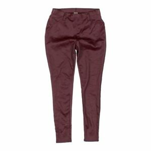 897600176e226 Faded Glory Women's Jeggings, size 8, maroon, cotton, polyester ...