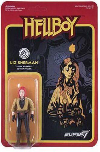 ReAction Hellboy Liz Sherman Action Figure