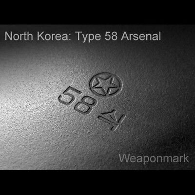 WEAPONMARK Polish selector etching etch stencil 7.62x39  EARLY MILLED