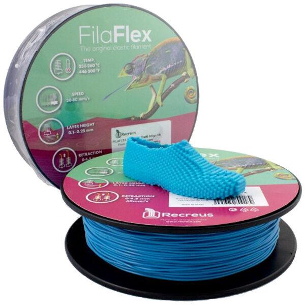 Recreus FilaFlex Ø1.75 0.5 kg Stampa 3D Blu - FBLUE175500