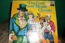 Der Graf von Monte Christo Hörspiel LP Alexandre Dumas Zebra Jugendserie - OVP