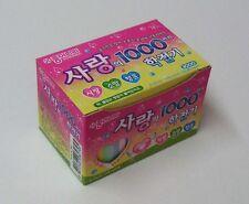 Korean Plain Color 1000 Crane Folding Origami Paper